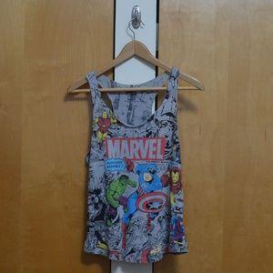 Marvel Comic Print Tank